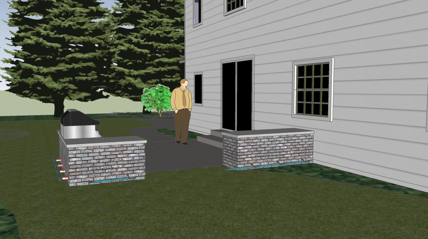 Creative Outdoor Living Designs Second Rain Integrated