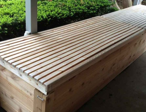 Rainwater Harvesting on the Front Porch